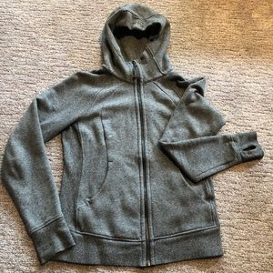 Lululemon scuba hoodie - heather gray